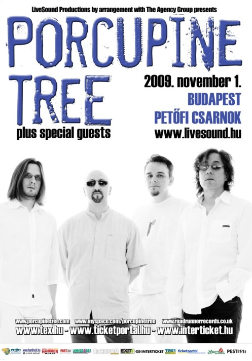 Porcupine Tree live in Budapest